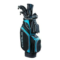Cobra Golf 2019 F-Max Superlite Complete Set Black-Lexi Blue
