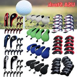 Golf Accessories Golf Club Iron Head Cover Training Grip Put