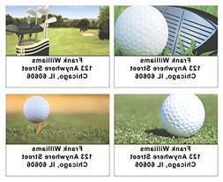 Golf Address Labels