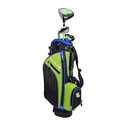 Orlimar Golf ATS Junior Boy's Lime/Blue Kids Golf Set