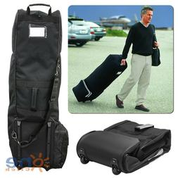 Golf Bag Case Travel Cover Heavy Protector Black Guard Carry