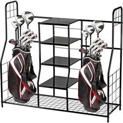 Home-it Golf Bag Sports Dual Golf Storage Organizer golf org