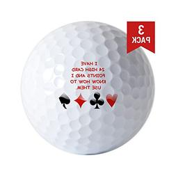 CafePress - Golf Ball - Golf Balls , Unique Printed Golf Bal