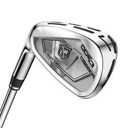 Wilson Staff Golf C300 Forged Iron Set KBS Tour 105 Steel SH