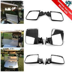 10L0L. Golf cart Generic Side Mirrors for EZGO Club Car Yama