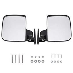 Golf Cart Mirrors Side Rear View Fits Club Electric Car Yama