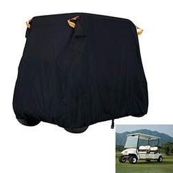 NEVERLAND Golf Cart Waterproof Cover Fits 4 Passenger,Breath
