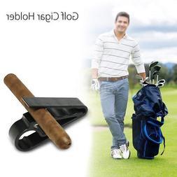 Golf Cigar Holder Cart Boat Minder Grip Clamp Golf Accessori
