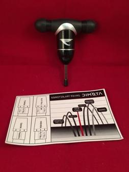 Tommy Armour Golf Club Atomic Torque Wrench. New With Instru