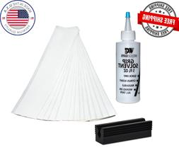 Golf Club GRIP KIT 25 Tape Strips, Solvent, Rubber Vise Clam