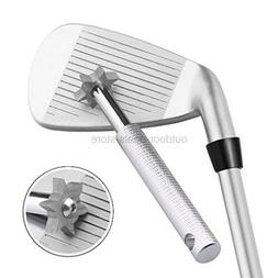 Golf Club Groove Sharpener Tool with 6 Cutters Golf Accessor