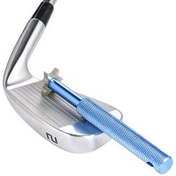 SummerHouse Golf Club Groove Sharpener with 6 Heads - Ideal