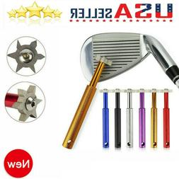 Golf Club Groove Sharpener Tool with 6 Cutters Original Ping
