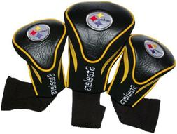 Pittsburgh Steelers Golf Club Head Covers 3 Pack by Team Gol