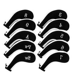 Golf Club Headcovers, Aeola Zipper headcovers for golf clubs