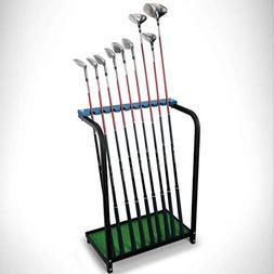 CRESTGOLF Golf Club Organizers Golf Club Display Shelf-----G