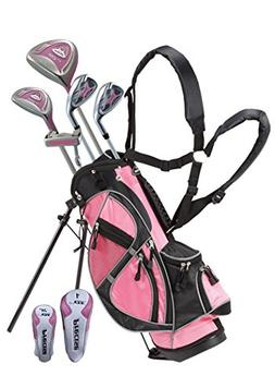 06600PINK-9-12-LH Junior Golf Club Set for Ages 9 to 12  Pin