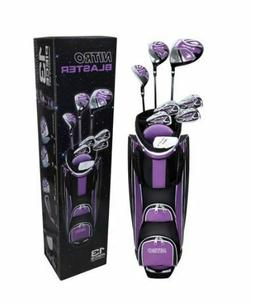 Golf Club Set Ladies Women Right Handed Complete Set Cart Ba