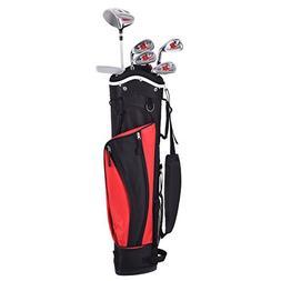 Costzon Junior Kids Golf Club Set 6 Piece Wood Iron Putter w