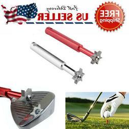 Golf Club Wedge & Iron Groove-Sharpener & Regrooving Cleaner