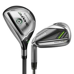 TaylorMade Golf Clubs RocketBladez 2.0 Hybrid Combo Irons ,