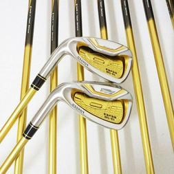 Golf Clubs HONMA S-06 4 star GOLF Irons Clubs SET 4-11Sw.Aw