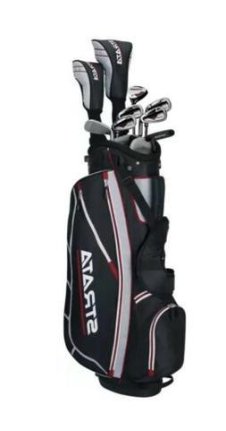 Golf Clubs Set Bag 12-Piece Mens Golf Club Iron Sets Callawa