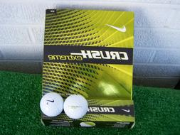 Nike Golf Crush Extreme Distance 16 White Golf Balls NEW 16
