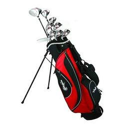 Confidence Golf ESP MENS ALL GRAPHITE Hybrid Club Set + Stan