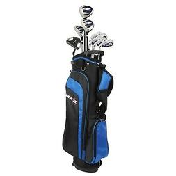 "Ram Golf EZ3 Tall Mens +1"" Golf Clubs Set with Stand Bag - G"