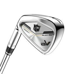 Wilson Staff Golf FG Tour V6 Iron Set True Temper Dynamic Go
