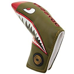 ODYSSEY Golf Fighter Plane Blade Putter Headcover