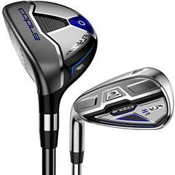 NEW Cobra Golf FLY-Z XL Combo 4-PW+GW Hybrid Irons Steel Sti