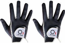 Men's Golf Glove Rain Grip Pair both hand or 2 Pack Left R