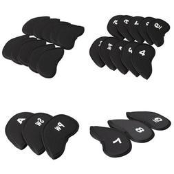 Stillcool Golf Head Covers 10Pcs Club Iron Putter Headcovers