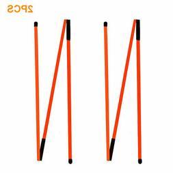 Golf Indicator Stick Skills Training Equipment Three Fold Au