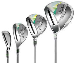 Taylormade Golf KALEA Womens 10 piece Club Set Driver 3 wood