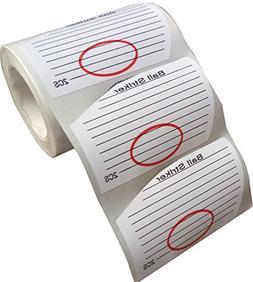 Golf Labels Target Binders Sticker,Golf Irons Tape 250PCS