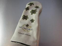 golf leather driver headcover turtle creek club