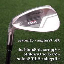 golf m6 approach sand lob wedge steel