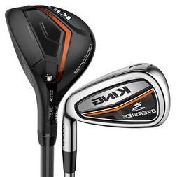 Cobra Golf Men's King Oversized Hybrid Combo Irons , New