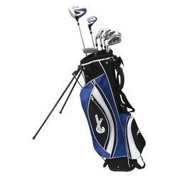 Confidence Golf LEFTY POWER Hybrid Club Set & Stand Bag