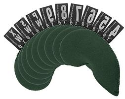 Club Glove Golf 9 Piece XL Neoprene Iron Covers