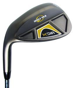 Ray Cook Golf RCX Black Nickel Wedge, Right, Steel, Wedge, 6