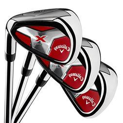 Callaway Golf Men's X Series 2018 Iron Set, 4-PA, Steel, Lef