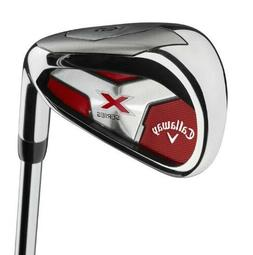 Callaway Golf Men's X Series 2018 Iron Set, 4-PA, Steel, Rig