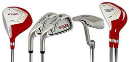 Delta Golf Women's SL500 Left-Handed 7 Piece Golf Set