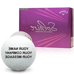 Callaway Golf Solaire Personalized Golf Balls