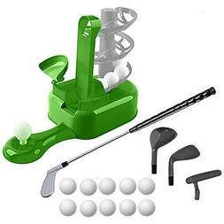 Golf Toy Set, Kids Clubs, Toddler Sports Toys, Outdoor Exerc