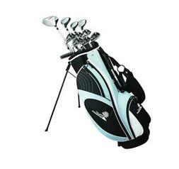 Palm Springs Golf VISA LADY ALL GRAPHITE Hybrid Club Set & S